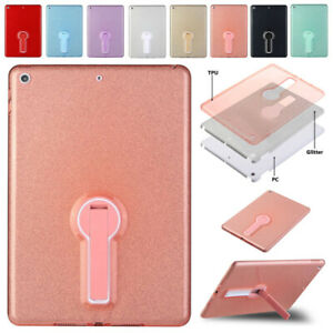 For iPad Mini 9.7 7th 8th Gen 10.2 11 2020 Bling TPU Shockproof Stand Case Cover