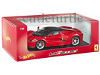 Hot wheels Ferrari LaFerrari 2014 New Enzo 1:18 Diecast Model Car BLY52 Red