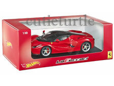 Hot wheels Ferrari LaFerrari 2014 New Enzo 1:18 Diecast Model Car BLY52 Red