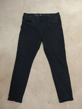 LEVIS Womens Size 10S 10 Black Jeans Skinny Pull On Stretch Waist 30