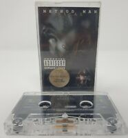 Vintage Tical by Method Man Rap Hip Hop Cassette Tape 1994 DEF Jam records