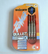 UNICORN THE POWER BULLET STAINLESS STEEL SOFT TIP DARTS SET 16g