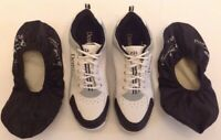 Mens Dexter Scott Bowling Shoes White Size 11 Very Good B2145-9 Dry Dogs Covers