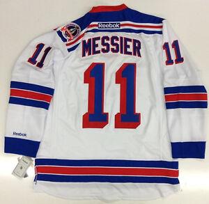 MARK MESSIER 1994 STANLEY CUP NEW YORK RANGERS AWAY JERSEY REEBOK PREMIER