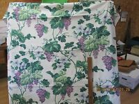 3 YDS INTERIOR FABRIC DESIGNS COTTON UPHOLSTERY FABRIC GRAPE VINE DESIGN