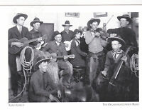 "*Postcard-""Early LineUp"" (Musician Change/Constant) Oklahoma Cowboy Band (#60)"