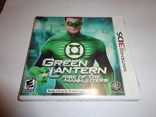 Green Lantern: Rise of the Manhunters  (Nintendo 3DS, 2011) NEW