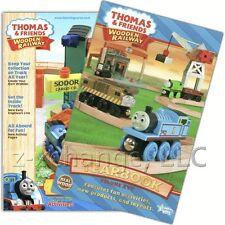 Usa 2011 2 Yearbooks Catalogs Thomas Wooden Train New
