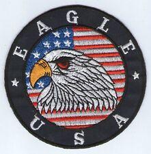 écusson ECUSSON PATCHE PATCH THERMOCOLLANT AIGLE USA BLEU FONCE DIAMETRE  9,5 CM 2392a3b8fa2