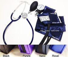New INFANT & CHILD Blood Pressure Cuff BP Set + Basic Stethoscope Kit M311 ROYAL