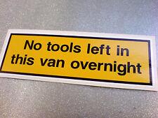 Ningunas herramientas izquierda en esta camioneta calcomanía calcomanía 1 De 150 Mm