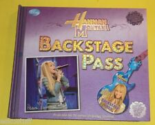 Hannah Montana Backstage Pass 2008 Disney TV Program Artifacts of the Show See!