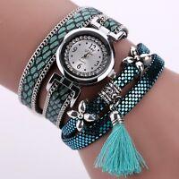 Belle Montre Femme Quartz Long Bracelet Ecaille Chic Top Fashion  PROMO