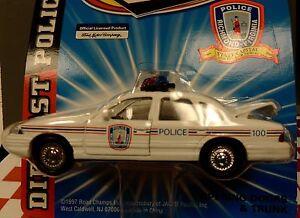 RICHMOND CITY Police Car 1997 CROWN VICTORIA 1:43 SCALE MIP !