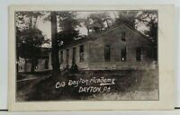 Dayton Pa Old Dayton Academy Early udb Postcard M11