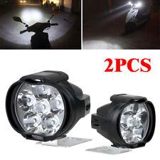 2pcs Car Motorcycle Headlight Spot Fog Lights 6 LED Front Head Lamp Work Lamp