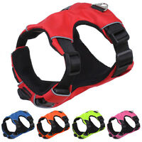 Reflective No Pull Small Big Dog Harness with Mesh Padded Great Control S M L XL