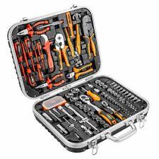 NEO 108-tlg. Werkzeugkoffer Werkzeug-Set Elektriker Satz Steckschlüsselsatz Tool