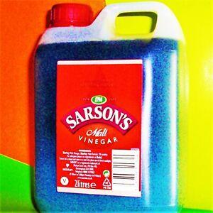 SARSONS Malt Vinegar 2Litres Malzessig Fish Chips British Fisch Pommes frites
