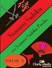 Samurai Sudoku: Samurai Sudoku : 100 Samurai Sudoku Puzzles by Clarity Media...