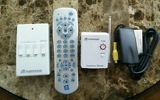 X10 Mini Transceiver, 3Ch/Dim RF Wall Switch, 5 in 1 Remote, USB Video Adapter