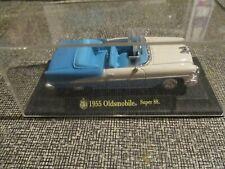 diecast car 1955 oldsmobile super 88 convertible in display case