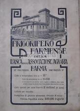 PARMA_FRIGORIFERO PARMENSE_BANCA_ASSOCIAZIONE AGRARIA_GHIACCIO_ANTICA PUBBLICITA