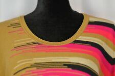 Sonia Rykiel Women's Sweater Sz 42 Striped Wool Blend Pullover Large Boho Casual