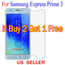 1x Clear Screen Protector Guard Cover Film For Samsung Galaxy Express Prime 3