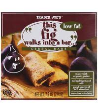 2 Packs Trader Joe's This Fig Walks Into A Bar Cereal Bars 6 Bars 7.8 oz Each