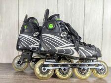 Youth Reebok Pump 6K Inline Hockey Skates roller blades Kids Sz Shoe 6 Skate