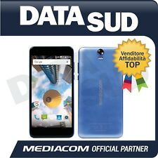 "SMARTPHONE MEDIACOM PHONEPAD DUO S7 5.5"" BLU/NERO - LTE- ANDROID 7.0 - M-PPBS7"