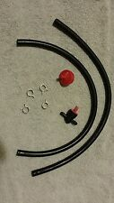 1/4 inch Fuel, Gas Line With Fuel Filter and Shut off Valve Lawnmower Fuel Line