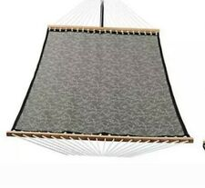 New listing Patio Watcher 14 Ft Quick Dry Hammock with Double Size Solid Wood Mocha