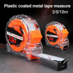EG_ 3/5/10m Portable Waterproof Steel Measure Tape Ruler Carpenter Measuring Too