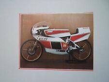 - RITAGLIO DI GIORNALE ANNO 1982 - MOTO MBA 125 GP