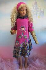 Langarm Baumwollmischung Einschulung Mädchenkleider