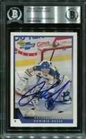 HOF DOMINIK HASEK signed autographed 1993-94 UPPER DECK UD CARD BECKETT (BAS)