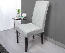 Sure Fit Statement Print Klara Dining Chair Cover - Grey