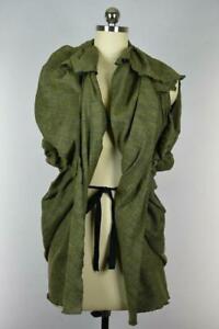 Marni Women's Sleeveless Open Front Sac Tweed Jacket Size 40 NEW