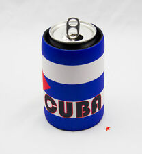 Cuba Flag Design Can Cooler