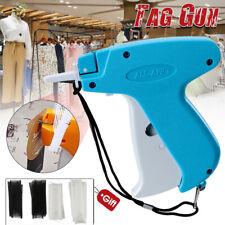 Clothes Garment Price Label Tagging Tag Gun Machine + 2000 Barbs + Steel Needle