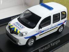 1/43 NOREV RENAULT KANGOO 2013 police municipale jaune rayures bleues 511324