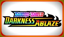 50x DARKNESS ABLAZE Codes Pokemon Online Booster Code Sword Shield - EMAIL FAST!
