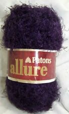 Patons ALLURE Color#04310 Amethyst 100% Nylon yarn 1.75oz. 47 yards