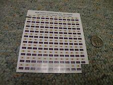 Bilbozo stickers / Decals 1/43 New Castle County Police Delaware  L128