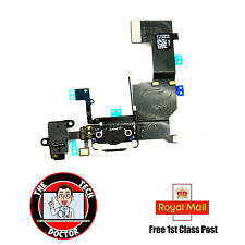 iPhone 5C Charging Port - Replacement Charger Flex Cable USB Mic OEM - Black