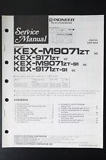 Pioneer kex-m9071/kex-9171 ORIGINAL SERVICE MANUAL/MANUEL/schéma! o24