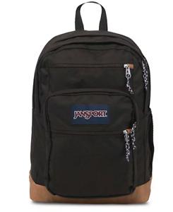 New JanSport Cool Student Laptop Backpack  Black Bag