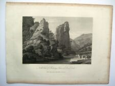 North View of Pickerings Tower in Dove Dale (publ. June 2, 1817)
